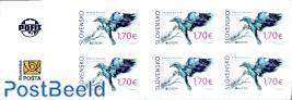 Europa, birds booklet s-a