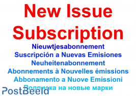 New issue subscription Souvereign Order of Malta