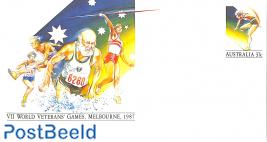Envelope 37c, world veteran games