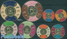 Independence 8v  (foil stamps)