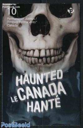 Haunted Canada booklet