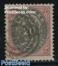 20o, normal frame, Stamp out of set