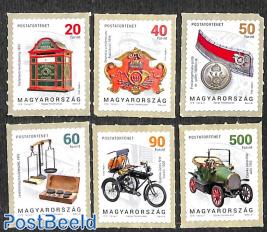 Postal history 6v s-a