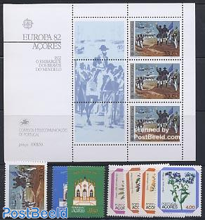 Yearset 1982 (7v+1s/s)