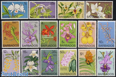 Definitives, orchids 16v