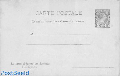 Reply Paid Postcard 10/10c