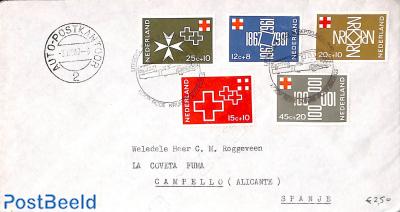 Red Cross set, Autopostkantoor