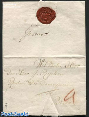 Letter from Grave to Breda