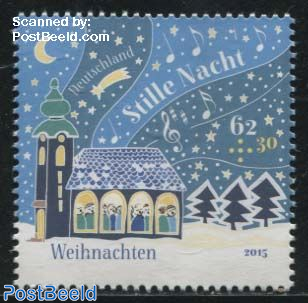Christmas, Welfare Stamp 1v